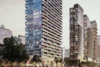 Transit City Condos at the Vaughan Metropolitan Centre. (Rendering courtesy SmartCentres)